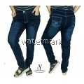 CY 2554 WOMAN CASUAL DENIM JEANS PANTS BIG PLUS SIZE SELUAR SIZE BESAR  5XL 6XL