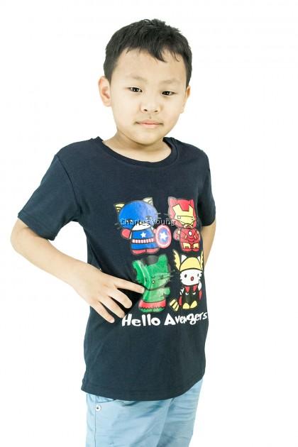 CY C7005 CHILDREN KID SUPERHERO MARVEL HELLO KITTY AVENGERS IRONMAN IRON MAN