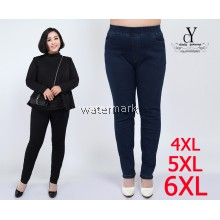 CY 3175 WOMAN CASUAL PANTS BIG PLUS SIZE SELUAR SIZE BESAR 3XL 4XL 5XL 6XL