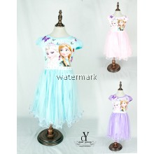 CY 8253 DISNEY PRINCESS DRESS FROZEN ANNA ELSA