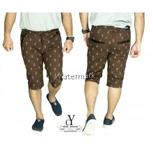 CY 2531 MAN CASUAL PLUS BIG SIZE  BESAR SHORT  PANT 7XL 8XL