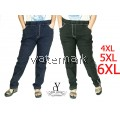 CY 4027 WOMAN CASUAL JOGGER PANTS BIG PLUS SIZE SELUAR SIZE BESAR 3XL 4XL 5XL 6XL