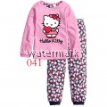 CY 146917 CHILDREN KID PYJAMAS SLEEPWEAR DISNEY CARTOON HELLO KITTY D