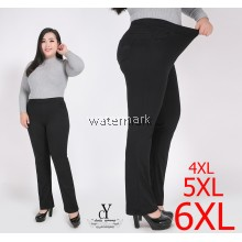 CY 3941 WOMAN CASUAL PANTS BIG PLUS SIZE SELUAR SIZE BESAR 3XL 4XL 5XL 6XL