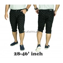 CY 0184 MAN CASUAL PLUS BIG SIZE  BESAR SHORT  PANT 7XL 8XL