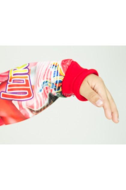 CY 02 TRAVEL JACKET SWEATER HOODIES DISNEY KID CHILDREN BABY ULTRAMAN