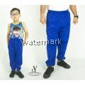 CY 355 [  LIGHT BLUE ] TRACK BOTTOM SPORT PANT SWEAT PANT SCHOOL GYM  YOGA KID ADULT