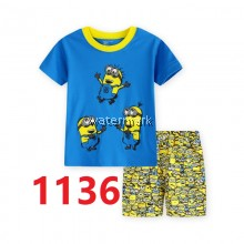 CY 149226 CHILDREN SUIT PASANG BUDAK DISNEY MINION DESPICABLE ME