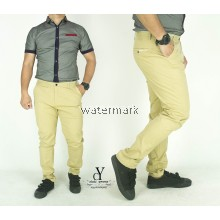 CY  0133 [ KHAKIS ] CASUAL OFFICE KPOP SLIM KOREA PANTS SELUAR PLUS SIZE BESAR