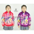 CY 4469 [ PURPLE / RED ] TRAVEL JACKET SWEATER HOODIES DISNEY KID CHILDREN PONEY