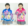 CY 4469 [ BLUE / PLUM RED ] JACKET SWEATER HOODIES DISNEY KID CHILDREN PONEY