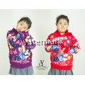 CY 33638 [ RED / PURPLE ] JACKET SWEATER DISNEY KID CHILDREN MICKEY NINNEY