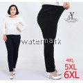 CY 3238 WOMAN CASUAL PANTS BIG PLUS SIZE SELUAR SIZE BESAR 3XL 4XL 5XL 6XL