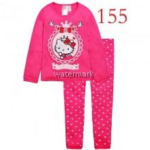 CY 151683 CHILDREN  SUIT PASANG BUDAK PYJAMAS DISNEY HELLO KITTY