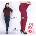 CY 3505 WOMAN CASUAL PANTS BIG PLUS SIZE SELUAR SIZE BESAR  6XL 7XL 8XL 9XL
