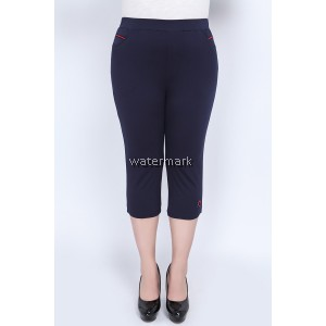 CY 3841 WOMAN CASUAL SHORT PANTS BIG PLUS SIZE SELUAR SIZE BESAR  7XL 8XL 9XL