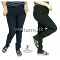 CY 80640 WOMAN CASUAL PANTS BIG PLUS SIZE SELUAR SIZE BESAR XXXL 4XL