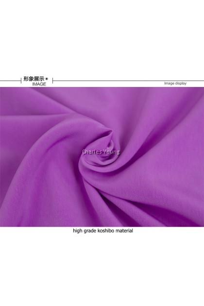 CY 2006 BAJU KURUNG MUSLIMAH  SEKOLAH KOSHIBO ( BAJU SAHAJA UNGGU / PURPLE )