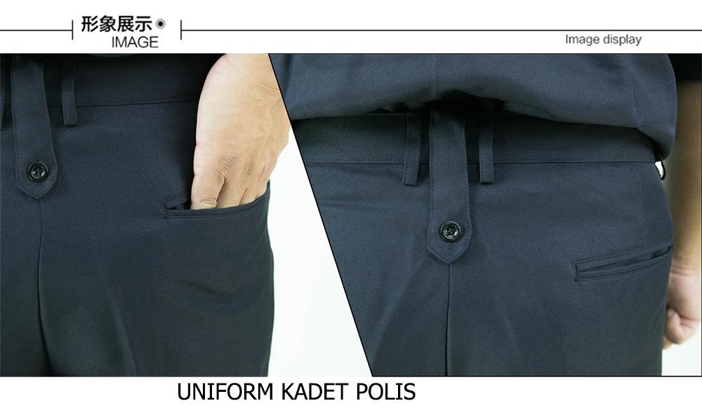 CY 2907 SCHOOL UNIFORM T.SHIRT KADET POLIS / SELUAR UNIFORM KADET POLIS / CADET POLICE SCHOOL PANT