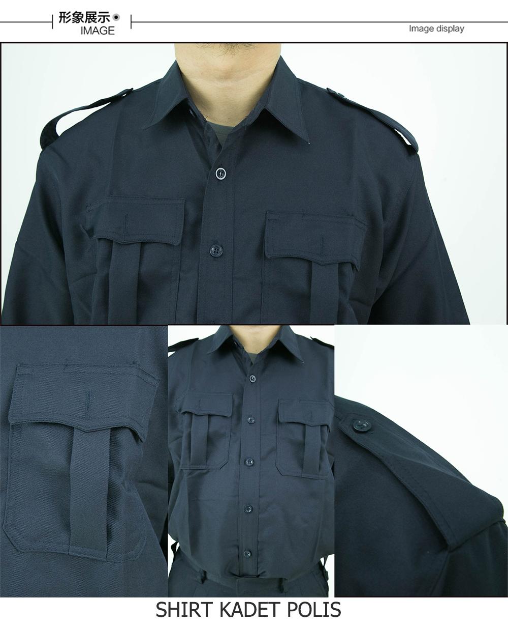 CY 2907 SCHOOL UNIFORM SHIRT KADET POLIS / KENEJA UNIFORM KADET POLIS / CADET POLICE SCHOOL SHIRT