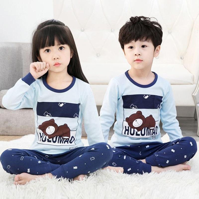 CY 160769 CHILDREN SUIT PASANG BUDAK PYJAMAS HULUMAO