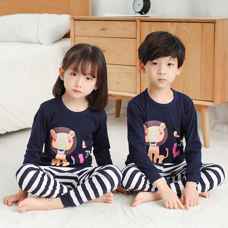 CY 160771 CHILDREN SUIT PASANG BUDAK PYJAMAS LION
