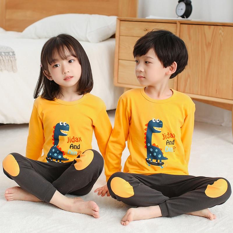 CY 160776 CHILDREN SUIT PASANG BUDAK PYJAMAS JIDAX AND DINO