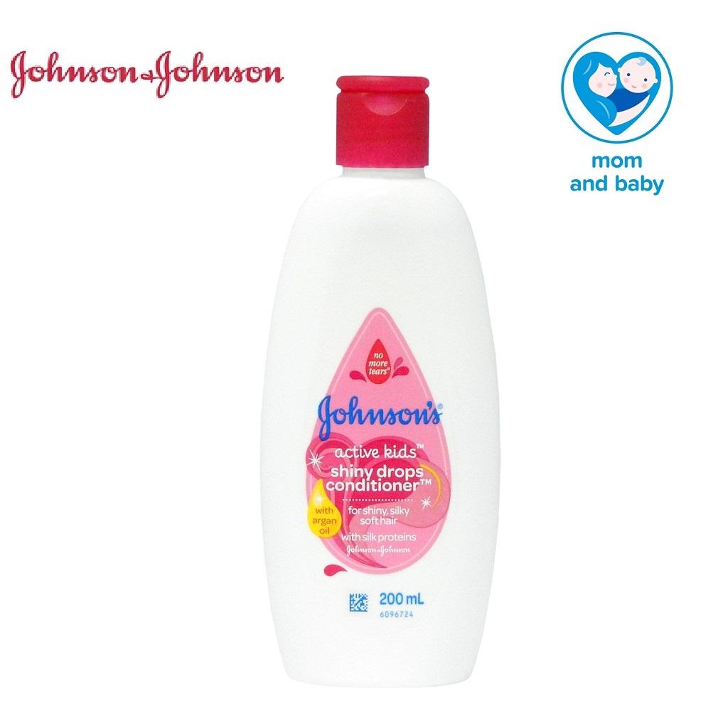 Johnson\'s Active Kids Shiny Drops Conditioner 200ml