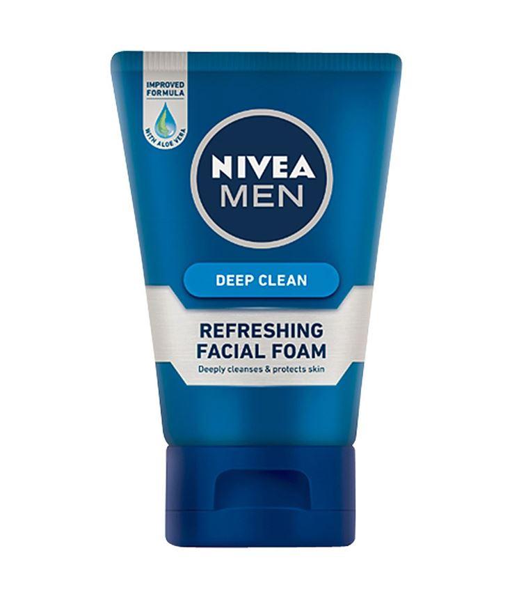 NIVEA MEN DEEP CLEAN REFRESHING FACIAL FOAM 50g