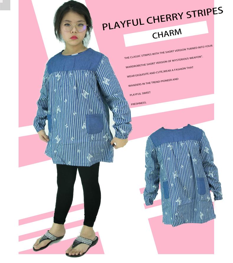 CY G708 KOREA STYLE MUSLIMAH BLOUSE SHIRT KIDS CHILDREN / BLOUSE BUDAK PEREMPUAN BAJU KURUNG