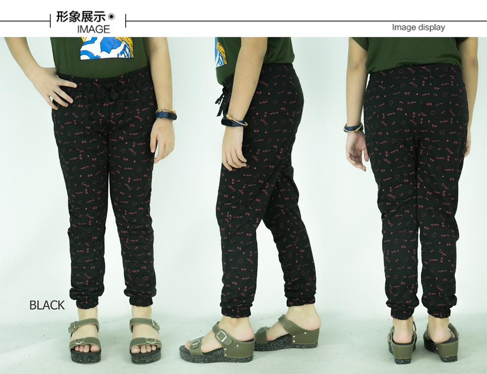CY 8017 KIDS GIRL JOGGER PANTS SLIMFIT TTROUSERS CUFFED CHINO / SELUAR COTTON BUDAK PEREMPUAN