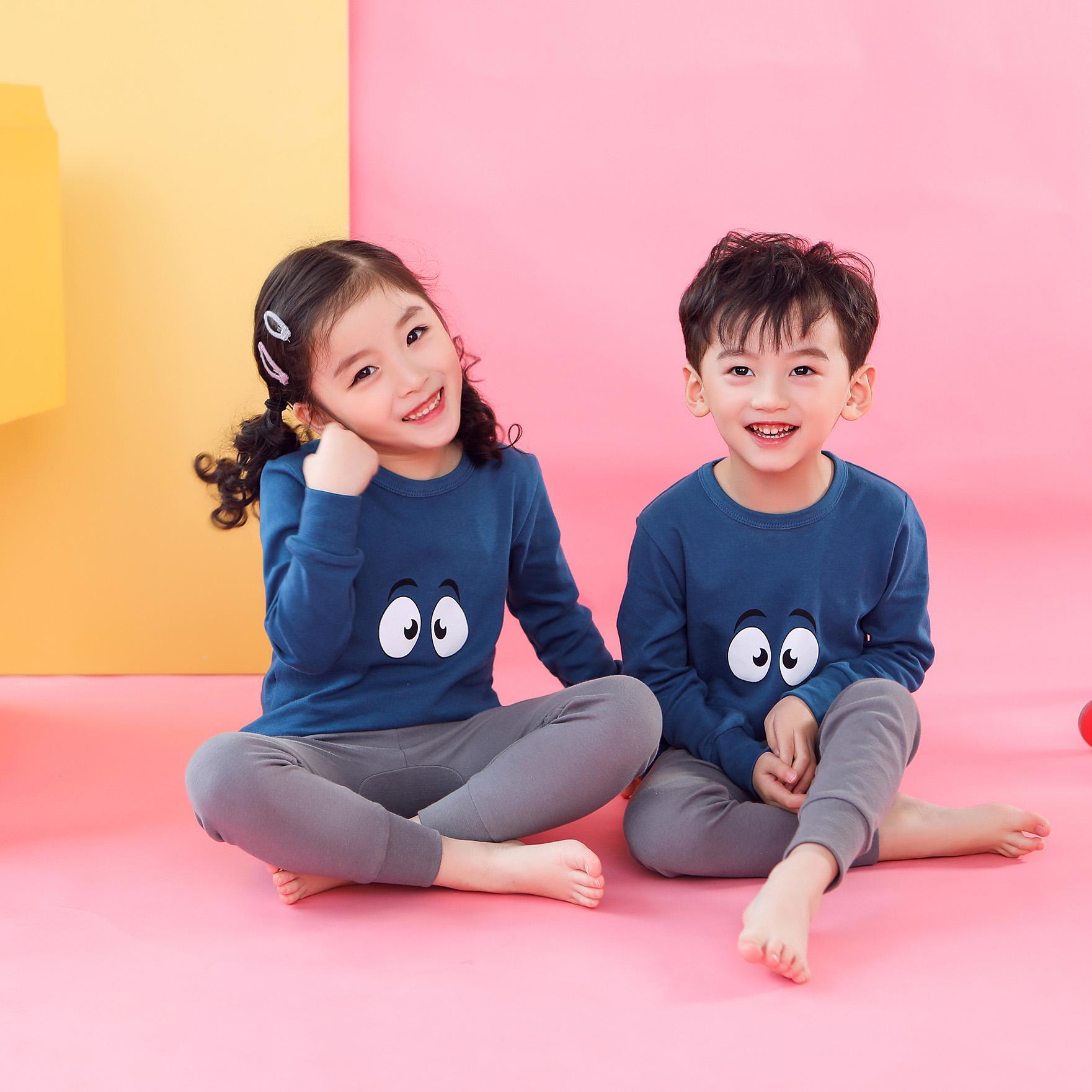 CY 162567 CHILDREN SUIT PASANG BUDAK PYJAMAS AIMEYA EYES 100-160