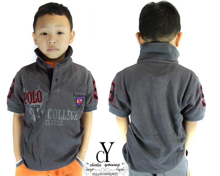 cy-84040 SHIRT,BUDAK,POLO,KIDS,COLAR,CHILDREN,BOY,84040