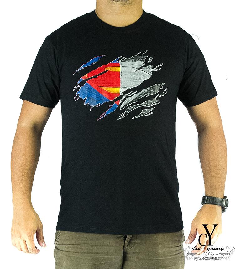 CY,T.SHIRT,CASUAL,MARVEL,SUPERHERO,GYM,MAN OF STEEL,DC