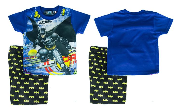 CY-8943 KID CHILDREN SUPERHERO SUIT SHIRT PANT DARK KNIGHT