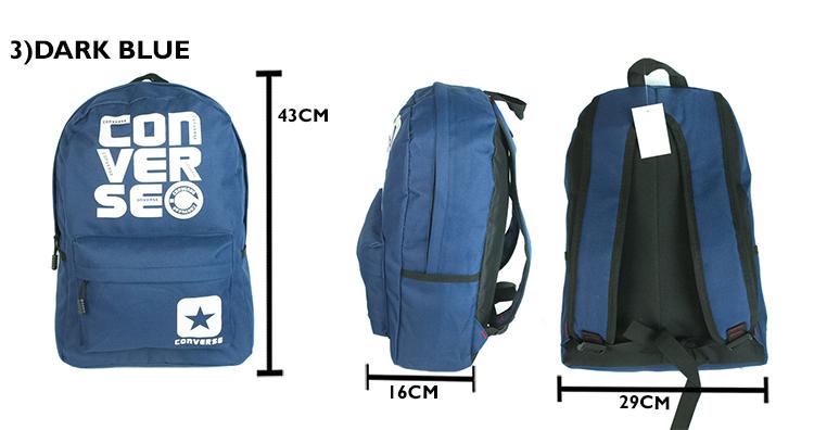 CY-C16 LEISURE TRAVEL CASUAL TRENDY LAPTOP SCHOOL BAG CONVERSE