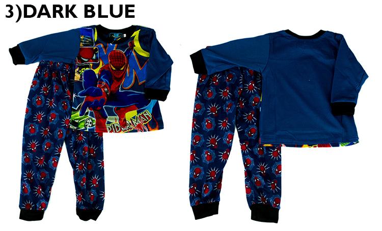 CY-3726 PYJAMAS SLEEPWEAR SHIRT PANT  SUPERHERO AVENGERS SPIDERMAN