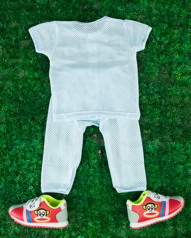 CY-NKNBC5-6 NEW BORN BABY SUIT SET  SHIRT LONG PANT COTTON