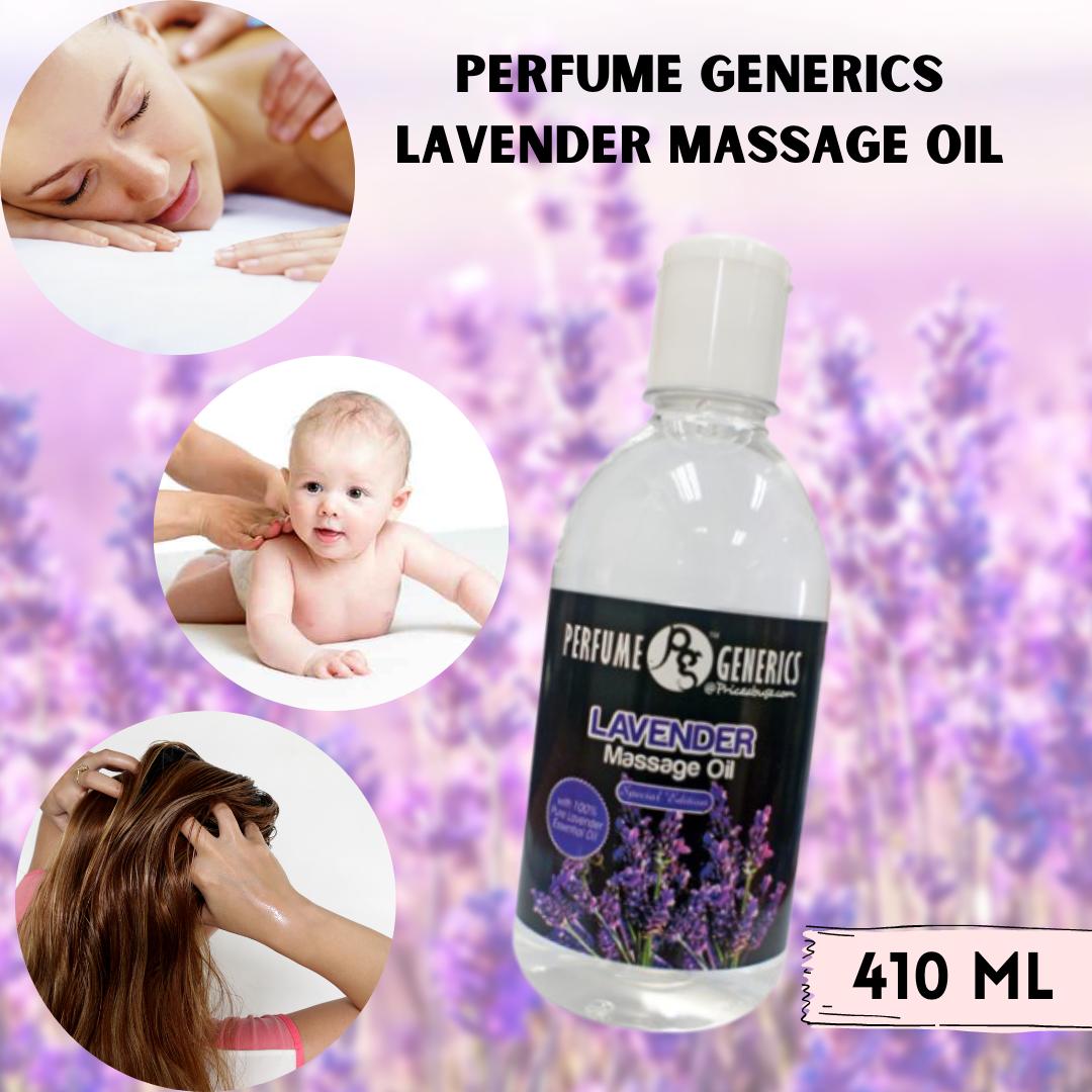 Perfume Generics Lavender Massage Oil ( 410ml)