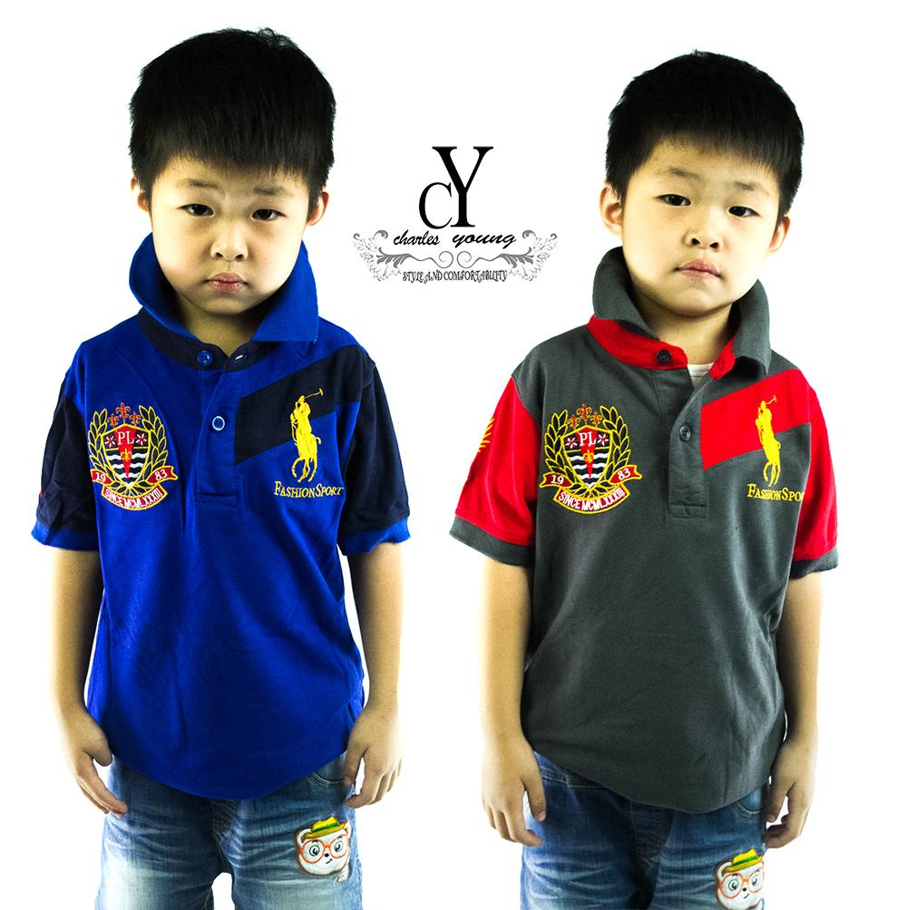 CY-01506 SHIRT BUDAK POLO KIDS COLAR CHILDREN BOY