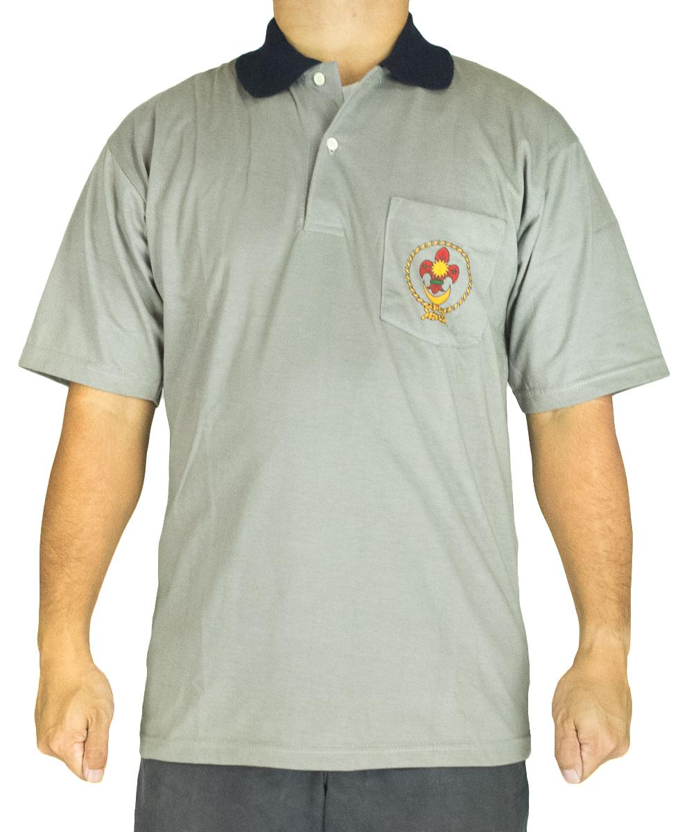 CY 2907 SCHOOL UNIFORM T.SHIRT SCOUT PENGAKAP