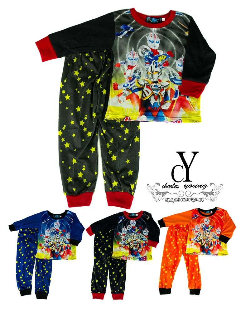CY 64114 PYJAMAS SLEEPWEAR SHIRT PANT  SUPERHERO ULTRAMAN