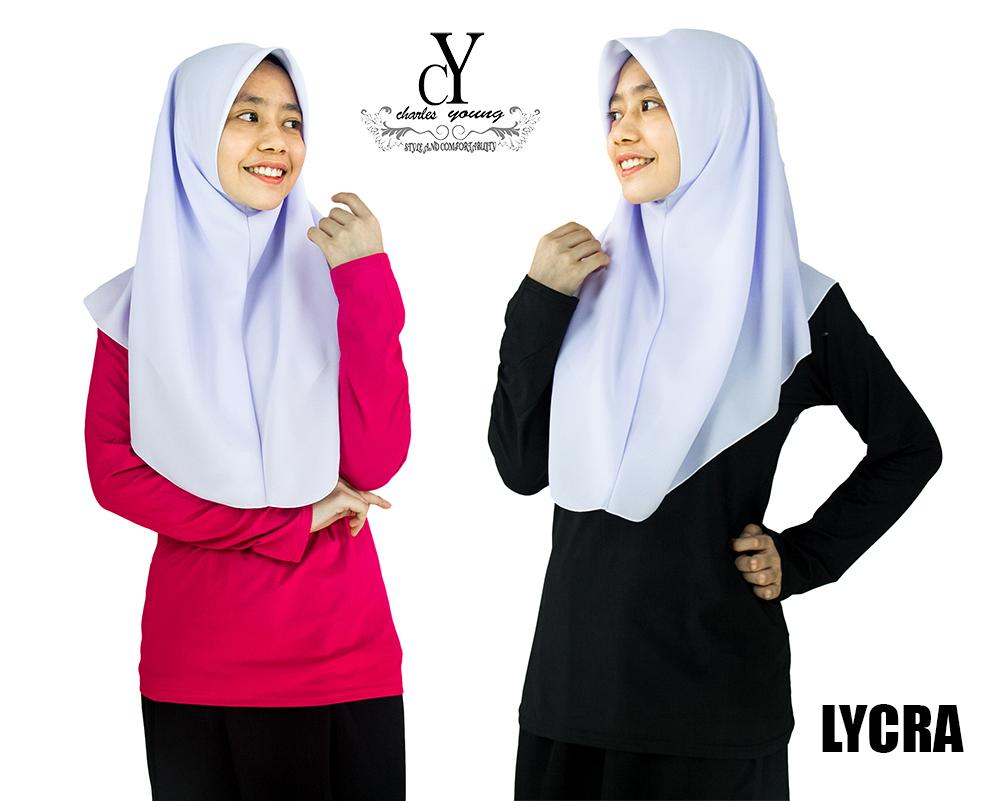 CY FS3 INNER SHIRT MUSLIMAH LONG SLEEVE PANJANG LYCRA