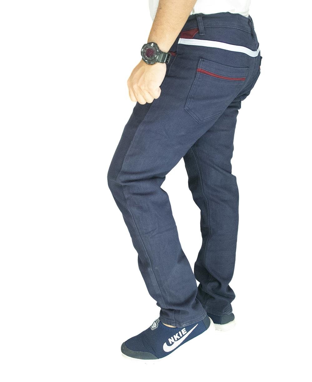 CY  2551 [ BLUE ] CASUAL KPOP SLIM KOREA PANTS SELUAR PLUS SIZE BESAR COTTON