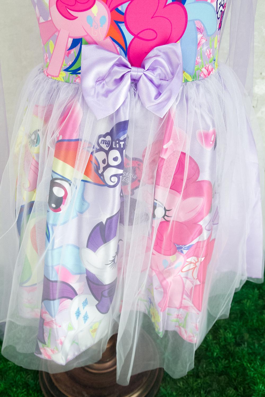 CY 8245 DISNEY PRINCESS DRESS LITTLE PONY PONIES