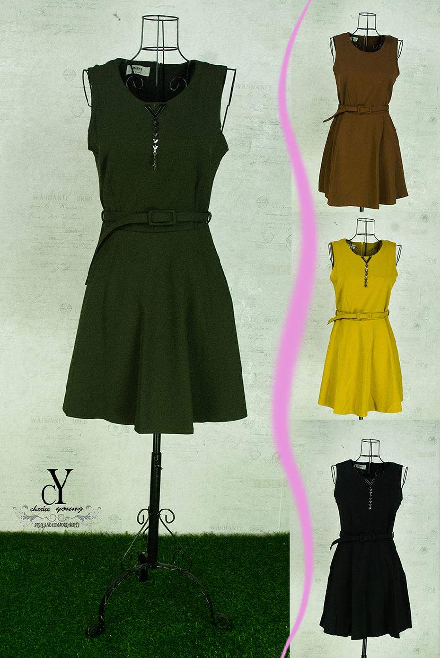 Pasaraya Cy Produk Terbaru Kate Spade Small Rachelle Brightwater Drive Spring Bloom Green Hijau 411 And Summer Womens Korea Easy To Wear Thin A Line Mini Dress