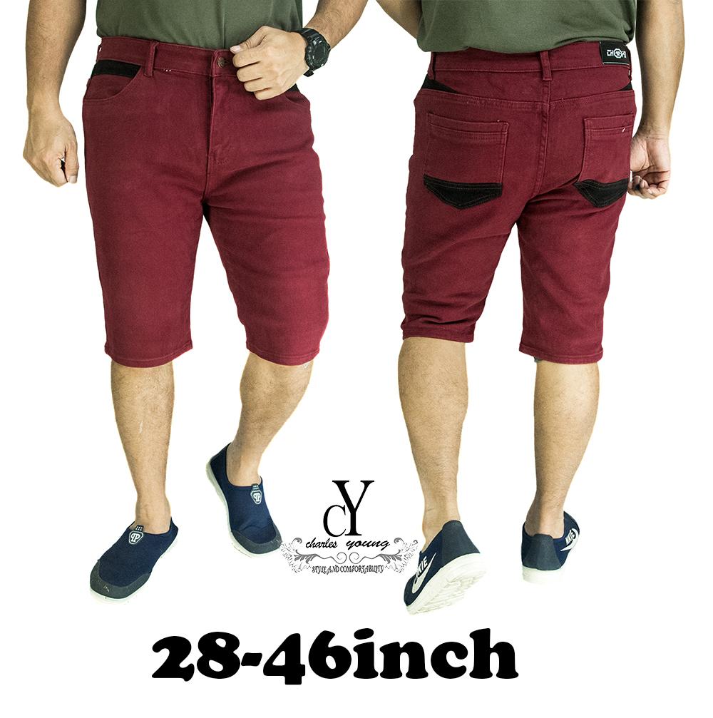 CY 6225 MAN CASUAL PLUS BIG SIZE  BESAR SHORT  PANT 7XL 8XL