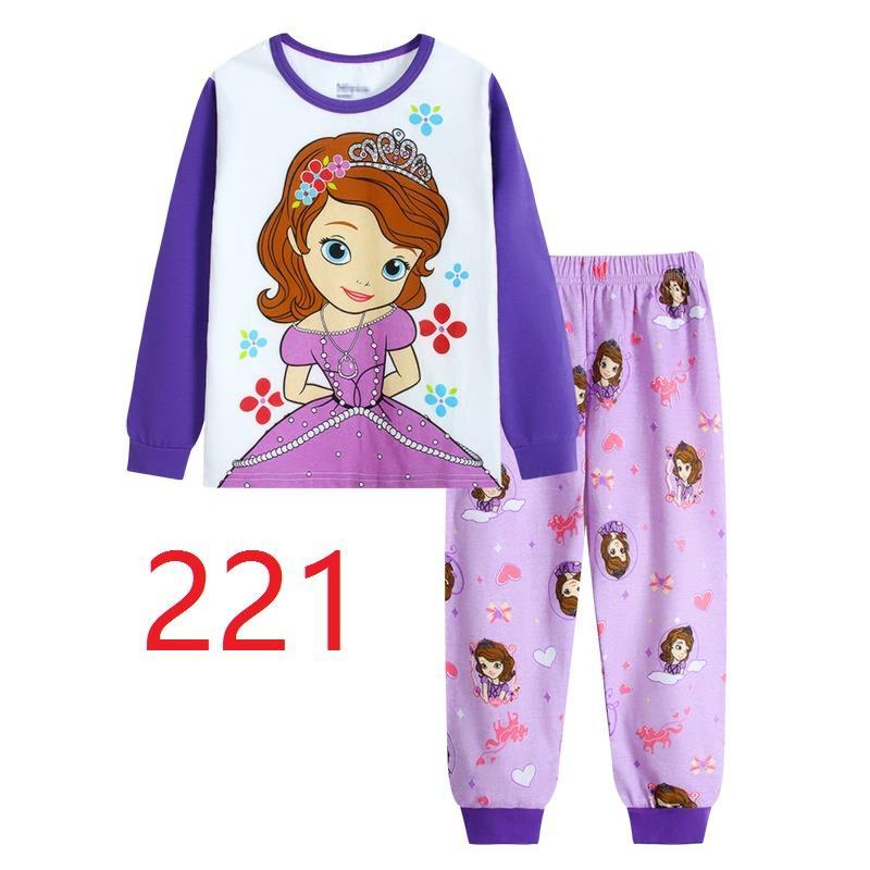 CY146911 CHILDREN KID PYJAMAS SLEEPWEAR DISNEY CARTOON SOFIA B