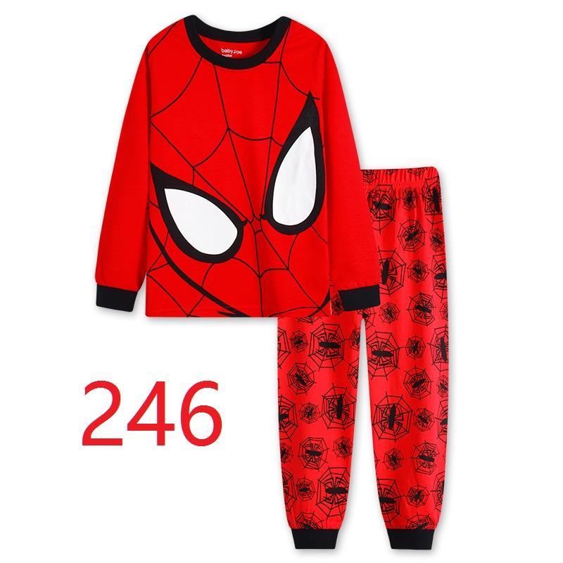 CY 146921 CHILDREN KID PYJAMAS SLEEPWEAR DISNEY CARTOON SPIDERMAN A