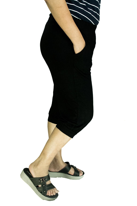 CY 3171 WOMAN CASUAL STRETCHABLE SHORT PANTS BIG SIZE SELUAR SIZE BESAR XXXL